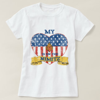 My Heart is on the Nimitz T-shirts