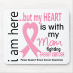 My Heart Is With My Mum Breast Cancer Mousemats
