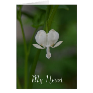 My Heart is Yours Bleeding Heart Card
