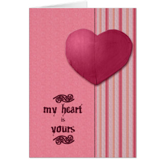 My Heart is Yours Cards