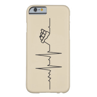 My heart marries beats for Chocolate Barely There iPhone 6 Case