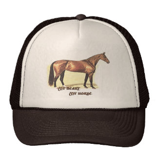My Heart My Horse Hat