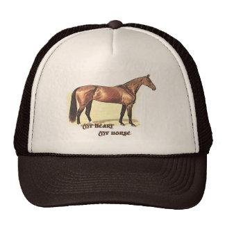 My Heart My Horse Hat