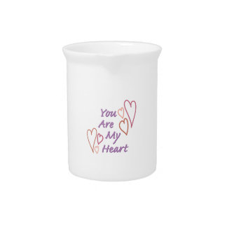 My Heart Beverage Pitchers