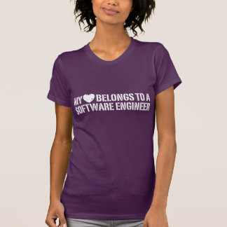 My Heart Software Engineer T-Shirt
