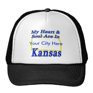 My Heart & Soul Are In Kansas Cap