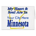 My Heart & Soul Are In Minnesota Cards