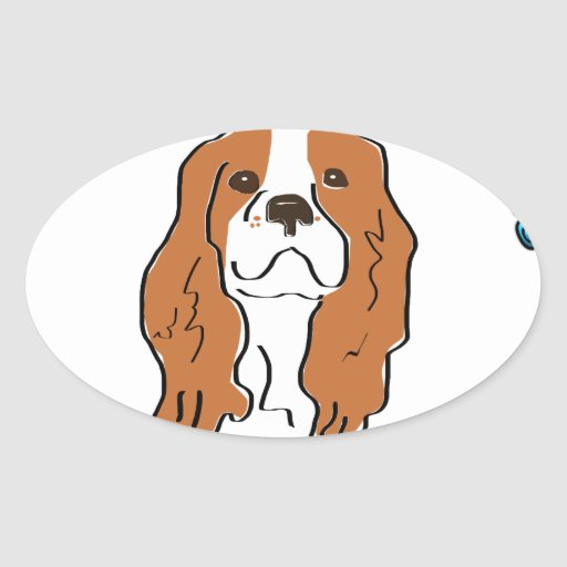 My heart & soul belong to my Cavalier Sticker