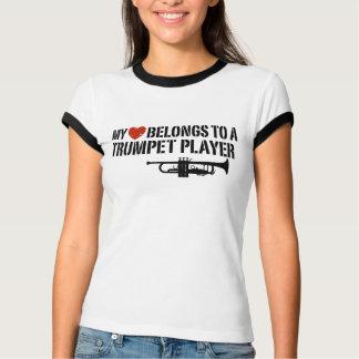 My Heart Trumpet Player T-Shirt