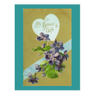 My Heart's Gift Postcard