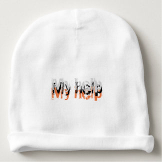 My help cometh from the LORD Baby Beanie