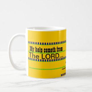 """My Help Cometh From The LORD"" Basic White Mug"