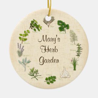 My Herb Garden Christmas Ornament
