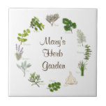 My Herb Garden Small Square Tile