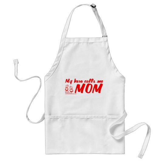 My hero calls me MOM Clean-up Apron