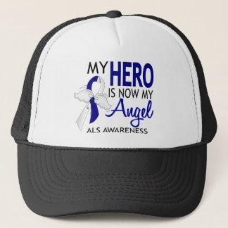 My Hero Is My Angel ALS Trucker Hat