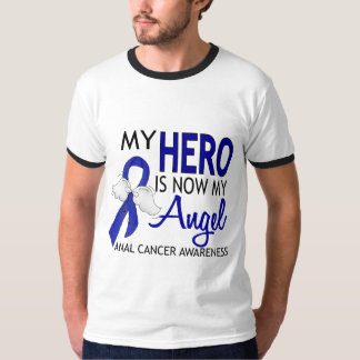 My Hero Is My Angel Anal Cancer T Shirts