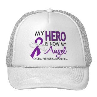 My Hero Is My Angel Cystic Fibrosis Trucker Hats
