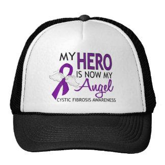 My Hero Is My Angel Cystic Fibrosis Mesh Hat