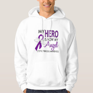 My Hero Is My Angel Cystic Fibrosis Hoodie