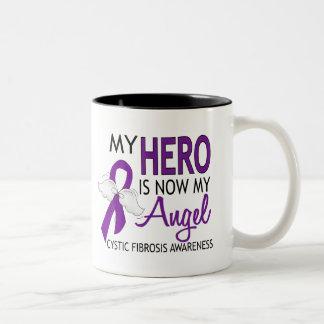 My Hero Is My Angel Cystic Fibrosis Coffee Mugs