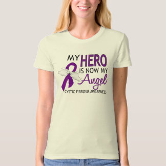 My Hero Is My Angel Cystic Fibrosis Shirt