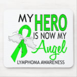 My Hero Is My Angel Lymphoma Mouse Mat