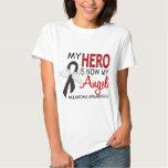 My Hero Is My Angel Melanoma Tshirt