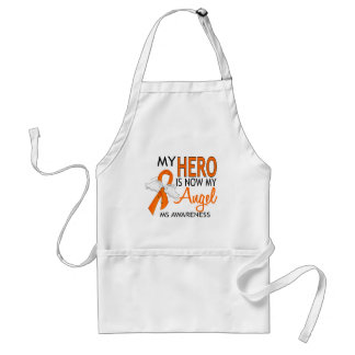 My Hero Is My Angel MS Adult Apron