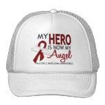 My Hero Is My Angel Multiple Myeloma Hats