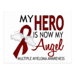 My Hero Is My Angel Multiple Myeloma Post Card