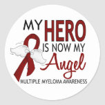 My Hero Is My Angel Multiple Myeloma Sticker