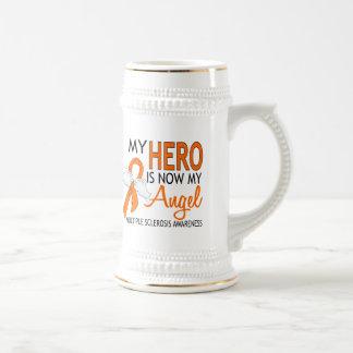 My Hero Is My Angel Multiple Sclerosis Coffee Mugs