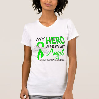 My Hero Is My Angel Muscular Dystrophy T-shirts