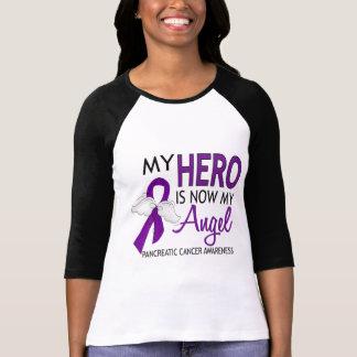 My Hero Is My Angel Pancreatic Cancer T Shirt