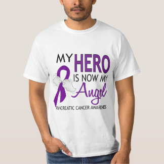 My Hero Is My Angel Pancreatic Cancer T-Shirt