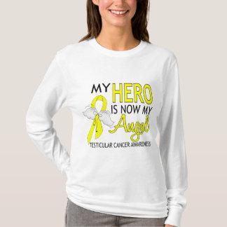 My Hero Is My Angel Testicular Cancer T-Shirt