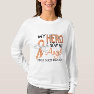 My Hero Is My Angel Uterine Cancer T-Shirt