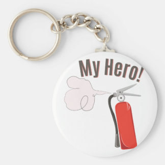 My Hero Basic Round Button Key Ring
