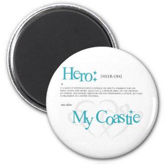 My Hero, My Coastie Magnet