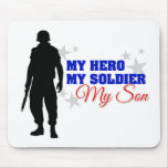 My Hero, My Soldier, My Son Mouse Mat