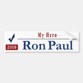 My Hero -Ron Paul Car Bumper Sticker