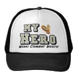 My Hero Wears Combat Boots! Cap
