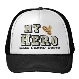 My Hero Wears Combat Boots! Cap