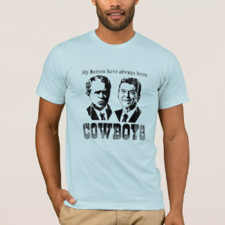 My heroes have always been cowboys Faded.png T-Shirt