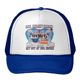 My Home?  Gone! 2 Mesh Hats