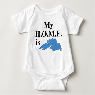 My Home is Superior! Baby Bodysuit