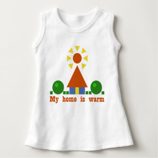 My home is warm dress
