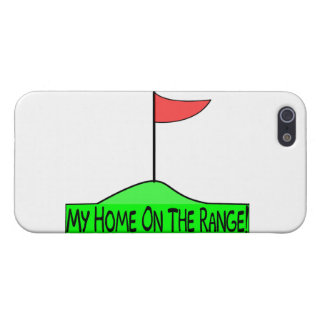 My Home On The Range Golf Cover For iPhone 5/5S