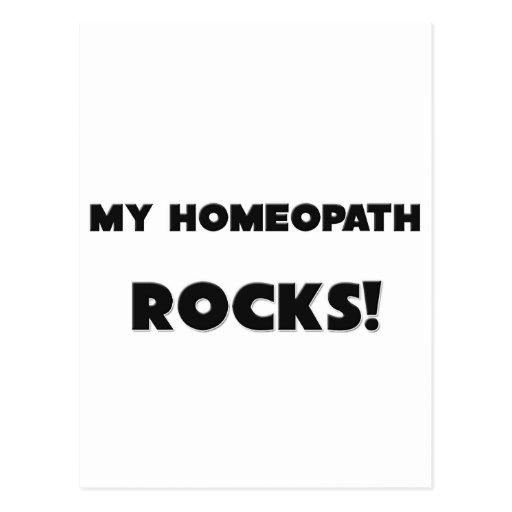 MY Homeopath ROCKS! Postcards